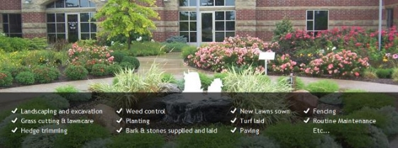 Complete gardening landscapers in antrim for Complete garden services