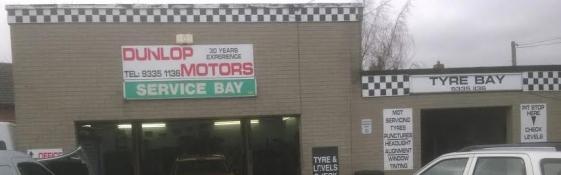 Dunlop Motors Garage Services In Carrickfergus