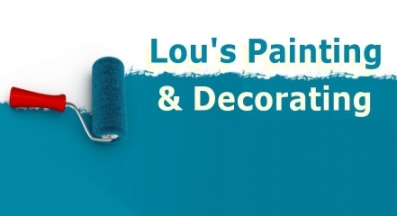 lou 39 s painting and decorating painters and decorators in. Black Bedroom Furniture Sets. Home Design Ideas