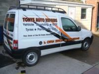 Tonys auto repairs garage services in wakefield for Garage tony auto