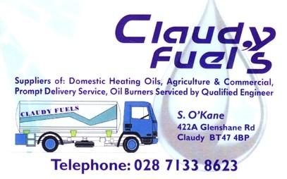 Claudy Fuels Coal Merchants In Derry